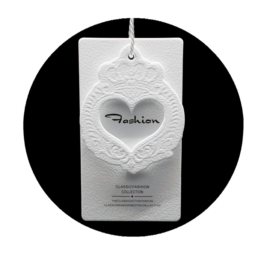 Printed Hang Tag in Garments,Shoes,Bags,Cosmetics